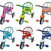 Велосипед 3кол. Дино, в ассорт, 6 цветов фото