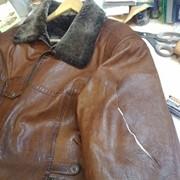 Чистка кожаных изделий фото