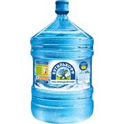 Артезианская вода 19л фото