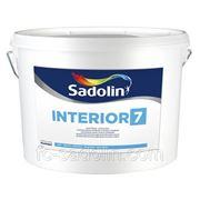 Краска Sadolin Interior 7 (матовая) 10 л фото