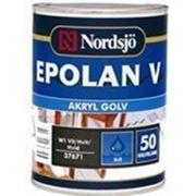 Водорастворимая краска для пола Nordsjo EPOLAN V AKRYL CLR (Швеция) 9л фото