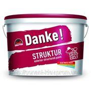 Штукатурка — краска фасадная DANKE STRUKTUR акриловая фото