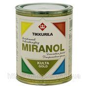 Декоративная краска Тиккурила Миранол 1л — золото, серебро, медь фото