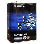 Оригинальное моторное масло Subaru ENGINE OIL SM 5w30 4л фото