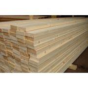 Сушеный строганный брус 140х42 140х38 мм для канадского домостроения фото