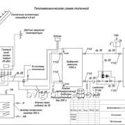 Проект системы отопления жилого дома — 288 м2. фото