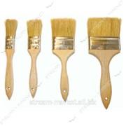 Кисть плоская Hand-tools ширина 50 мм (натур. ворс, буковая ручка) №423709 фото
