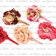 Заколки цветы фото
