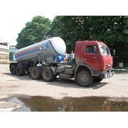 Полуприцеп-цистерна цементовоза автомобильного НПЦ-13 фото