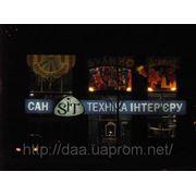 Изготовление лайтбоксов, рекламных световых коробов фото
