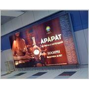 Заказать лайтбокс в Киеве, изготовление световой рекламы фото