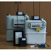Система учета потребленного газа с дистанционным снятием и передачей показаний счетчиков газа по радиоканалу на центральный диспетчерский пункт. фото