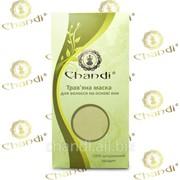 Травяная маска для волос на основе хны Chandi фото