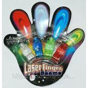 Лазерные пальцы Laser Finger Beams насад optic dance party show набор для дискотеки, ночного клуба или просто дружеской вечеринки фото
