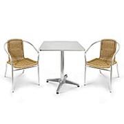 Комплект мебели LFT-3099A/T3125-60x60 Cappuccino (2+1) фото