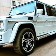 Прокат лимузина в г. Павлодар - Mercedes-Benz Gelandewagen G500 фото