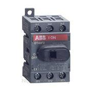 Выключатель нагрузки OT16F3, 16А, 3P, 2M, рукоятка спереди фото