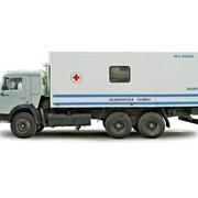 Автофургон для флюорографии МЕДИКАР (шасси КАМАЗ-53215 6х4) фото