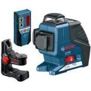 Bosch Нивелир лазерный линейный Bosch GLL 3-80 Р + Приемник LR 2 + Держатель BM 1 фото