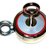 Двухсторонний поисковый магнит Редмаг F300х2 (450 кг) фото