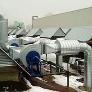 Проектирование систем вентиляции воздуха Киев фото
