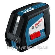 BOSCH GLL 2-50 + BM1 + LR2 Professional - Автоматический линейный лазерный нивелир (лазерный уровень) фото