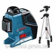 Bosch Нивелир лазерный линейный Bosch GLL 3-80 Р + Штатив BS 150 фото