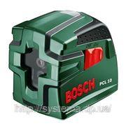 BOSCH PCL 10 - Лазерный нивелир с перекрестными лучами (лазерный уровень) фото