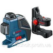 Нивелир лазерный линейный Bosch GLL 2-80 P + Держатель BM 1 фото
