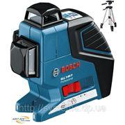BOSCH GLL 3-80 P + BS 150 Professional - Лазерный нивелир (лазерный уровень) фото
