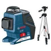 Bosch Нивелир лазерный линейный Bosch GLL 2-80 P + Штатив BS 150 фото