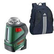 Bosch бытовой Нивелир лазерный линейный Bosch PLL 360 + Рюкзак фото