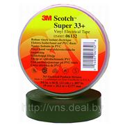 06132 Лента изоляционная Super 33+, 19 мм х 20 м фото