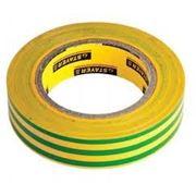 Изолента желтая ПВХ 15 мм х 10 м фото