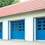 Промышленные секционные ворота серия RP фото