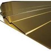 Латунный лист Л63 6х1500х600 мм птв фото