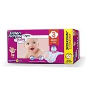 Helen Harper детские подгузники Baby Midi №3 (4-9кг) 52шт фото