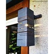 """Фасадный светильник в стиле Loft """"ПОА"""" фото"""