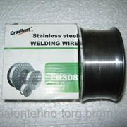 Сварочная проволока ER308 нержавеющая Gradient, 1,2 мм, 5 кг фото
