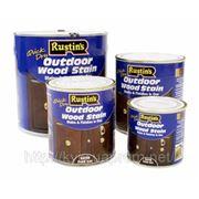 Защитное покрытие для внешних работ (Цветной, Акриловый лак на водной основе). Q/D Outdoor Wood Sta 250мл. фото