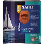 Лак яхтный SMILE WOOD PROTECT SWL11 алкидно-уретановый фото