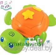 Игрушка для купания муз. Черепаха фото