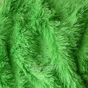 Мех для игрушек - травка, цвет зеленый. МИ 04 фото