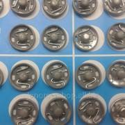 Кнопки пришивные металлические №5 фото