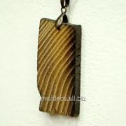 Бижутерия ручной работы Pandantiv din lemn 12. Кулон из дерева. фото