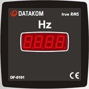 DATAKOM DF-0101 Частотометр, 1 фаза, 72x72 мм фото