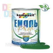Эмаль акриловая PROFI (зеленая) - 10 л. фото