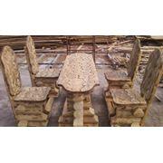 Производим деревянную мебель для сада парка. Изготовление столярных изделий под заказ фото