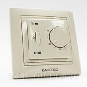 Терморегулятор EASTEC E - 30 кремовый, механический. Встраиваемый 3,5 кВт Корея фото