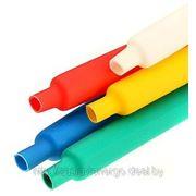 Цветные термоусаживаемые трубки с коэффициентом усадки 2:1 (в рулонах) фото